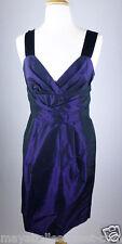 MINT$148 *BANANA REPUBLIC* Purple RUCHED WRAP Chiffon COCKTAIL DRESS 0 XS