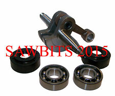 HUSQVARNA 340 345 350 CRANKSHAFT COMPLETE WITH SEALS AND BEARINGS NEW