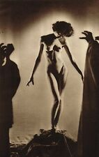 1930s Vintage Nude Glamour Model John Everard Art Deco Photo Gravure Print