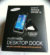 SAMSUNG INFUSE 4 G multimediale Desktop DOCK ECR-D 1 B 7 begsta Nuovo & Inscatolato