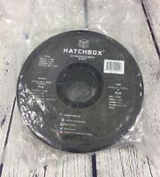 Hatchbox 3D Printer Filament PLA 1.75 mm Black 1kg Spool - Sealed Bag