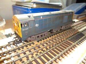 Lime Class 20 007 in weathered BR Blue Livery