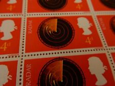 More details for sheet of old stamps unused   ideal for crafts decoupage upcycle  radar