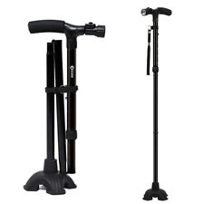 Folding Available HurryCane All-Terrain Pivoting Base Walking Stick Cane 2 Style