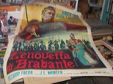 Geneviève de Brabant Manifesto 2F Original 1964
