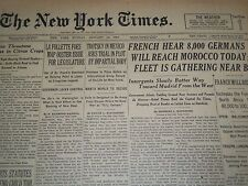 1937 JAN 10 NEW YORK TIMES - TROTSKY IN MEXICO ASKS TRIAL IN PLOT - NT 1277