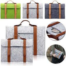 "HOT For Universal 9.7"" 10.1"" Tablet Sleeve Pouch Woolen Felt Handbag Case Cover"