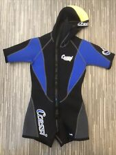 Cressi Lady Kids Wetsuit - Hooded Shorty Over Wetsuit Or Snorkelling Small S