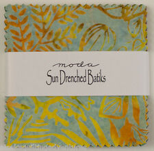 """Moda FABRIC Charm Pack ~ SUN DRENCHED BATIKS ~  40 -  5"""" squares"""