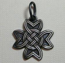 celtic,CROCE CELTICA Ciondolo  argento brunito