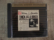 JETHRO TULL THICK AS A BRICK CD GOLD MFSL OMR UDCD 510 U.S.A.