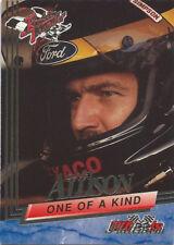 1993 Wheels Rookie Thunder Platinum #85 Davey Allison