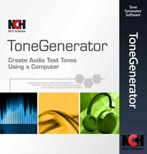 NCH ToneGenerator Audio Test Tone & Sound Generator Software FULL License2020✅🔥