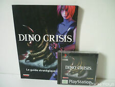 Sony Playstation 1 Dino Crisis Jeu + Guide PAL FR