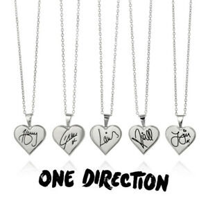 One Direction Signature Heart Necklace