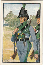 Prussia Lützow Free Corps Tyrol Deutsches Heer Germany Uniform IMAGE CARD 30s