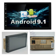 """Android 9.1 Universal 2 Din 7"""" Car Stereo Radio GPS Wifi Touch Screen Quad-Core"""