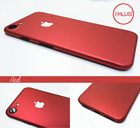 Red iPhone 7 6 6S Plus -- Metal Effect Body Skin Sticker Wrap Decal Product