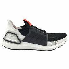 adidas Ultraboost 19 Mens Shoes Size US 10.5 UK 10   Black Grey White Olive
