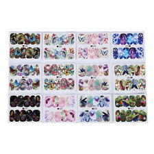 12patterns water decals nail art transfer stickers butterfly manicure decor LC