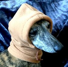 Whippet Polar fleece Hat / dog snood