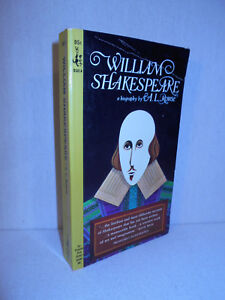 William Shakespeare  : a Biography by A. L. Rowse (1965, Paperback)