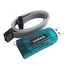 Usbasp Avr Programmer Adapter Arduino 10 Pin Cable Usb Atmega8 Atmega128