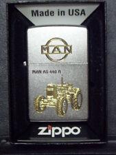 Zippo Sturmfeuerzeug MAN Trecker AS 440 A Gravur