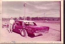 BOB SMITH #3 STOCK CAR 1971-AUTO RACING PHOTO