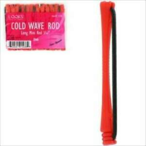 """Long Mini Red Cold Wave Rollers 1/10"""""""