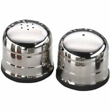 Stainless Steel Collectable Salt & Pepper Pots