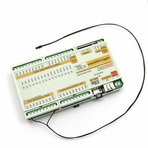 smartDEN Logger - Datalogger, web enabled temperature, humidity, light, voltage