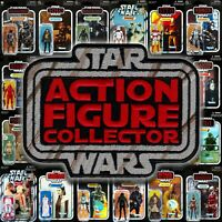 "Kenner style Star Wars ""Action Figure Collector"" toy logo 4"" embroidered patch"