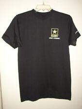 USGI Army Strong Black PT T-Shirt - Medium