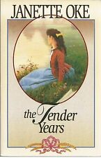 The Tender Years A Prairie Legacy volume 1 Janette Oke paperback book new 1998