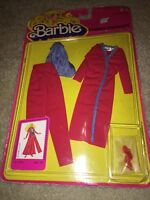 rare superstar 1981 Barbie Fashion Favorites 3786 Red Purple Pantset