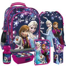 Frozen Schulrucksack Rucksack Schulrucksackset Schulranzen Set mit Stiftebox