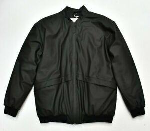 New RAINS B-15 Bomber Jacket Coat Thermal Waterproof in Black Size S/M