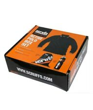 SCRUFFS ACTIVE POLO BOX SET WITH SPORTS BOTTLE AND DRAWSTRING BAG Size Medium