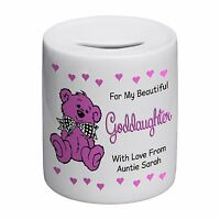 Goddaughter Novelty Ceramic Money Box
