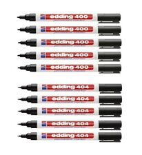 5 Stück Edding 550 Permanent-Marker schwarz Rundspitze 3-4mm Filzstift NEU