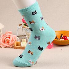Fashion Women Lovely Cat Socks Animal Cartoon Girl Boy Cotton Socks 30cm