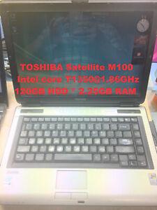 "TOSHIBA Satellite M10_Intel Core T1350@1.86GHz_120GB HDD_2.25GB RAM_14.1"" Screen"