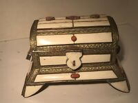 ANTIQUE MOROCCAN CAMEL JEWELRY CHEST