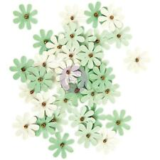 Prima Marketing Tiny Flowers - SHIRLEY - Pack of 36 - Green