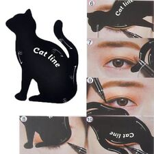 Cat Line Eye Makeup Tool Eyeliner Stencils Template Shaper Model +Eyebrow Shaper