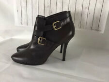 Ralph Lauren Authentic Leather Brown Ankle Boots UK 5