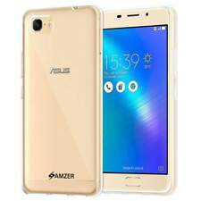 AMZER Shockproof TPU Skin Fit Case Cover For ASUS ZenFone 3S Max ZC521TL - Clear