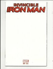 INVINCIBLE IRON MAN # 1 (BLANK COVER VARIANT, DEC 2015), NM NEW