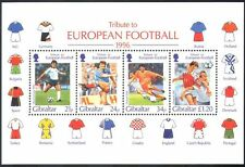 Gibraltar 1996 European Football Championships/Sports/Games/Soccer m/s (s6381)